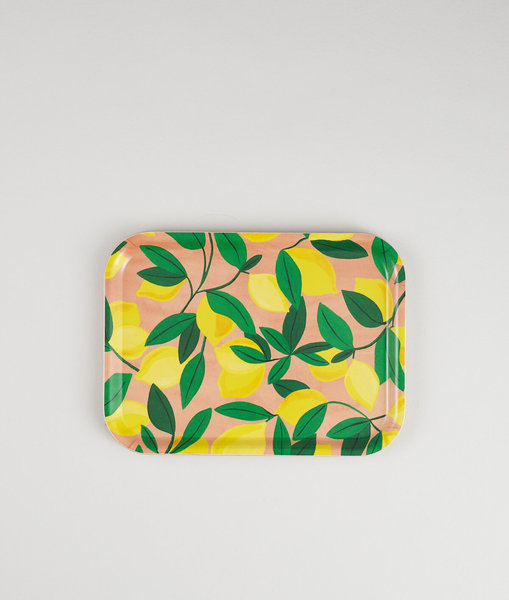 Lemons Mini Rectangle Tray