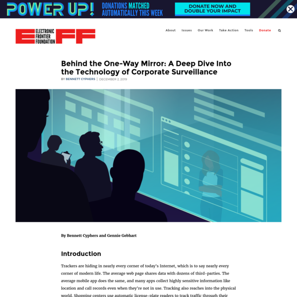 Behind the One-Way Mirror: A Deep Dive Into the Technology of Corporate Surveillance