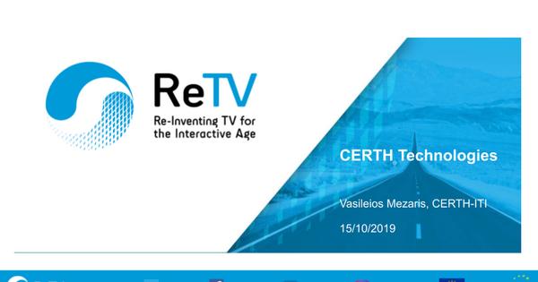 ReTV CERTH Technologies