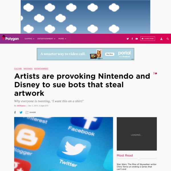 Artists are provoking Nintendo and Disney to sue bots that steal artwork