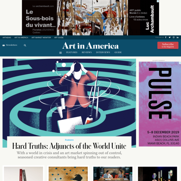 Art in America - ARTnews.com