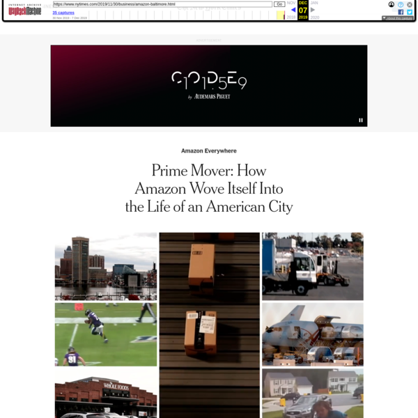 Prime Mover: How Amazon Wove Itself Into the Life of an American City