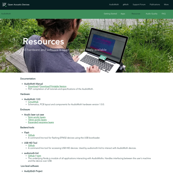 Resources | openacousticdevices
