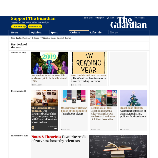 Best books of the year | Books | The Guardian
