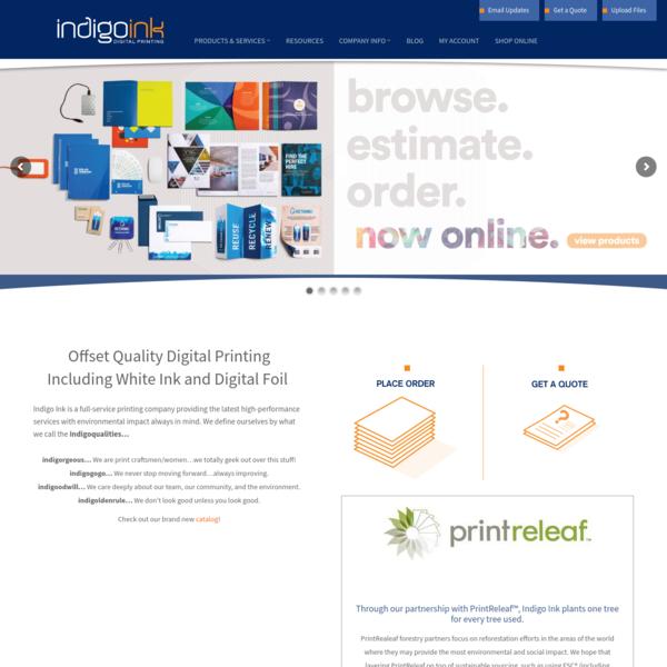 Indigo Ink - Digital Printing in Maryland - Print Digital