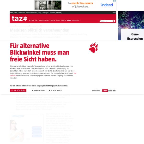 Umstrittenes Bauprojekt auf St. Pauli: Markisen plötzlich verschwunden