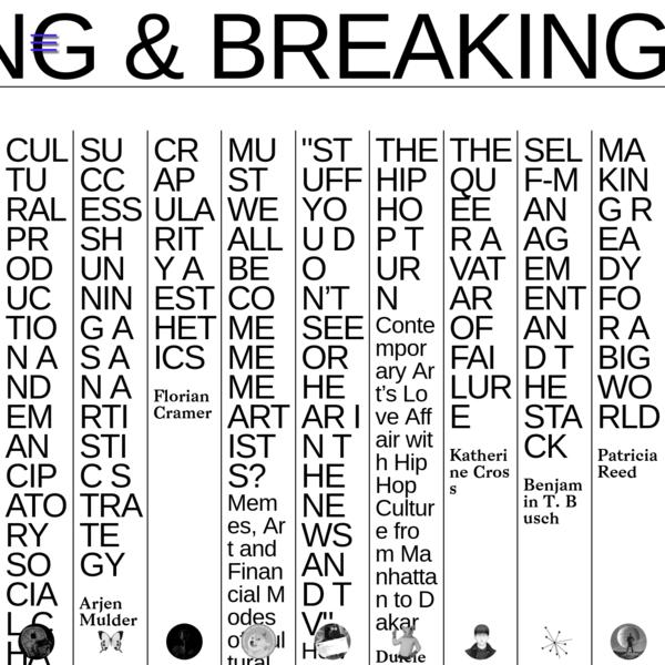 Making & Breaking