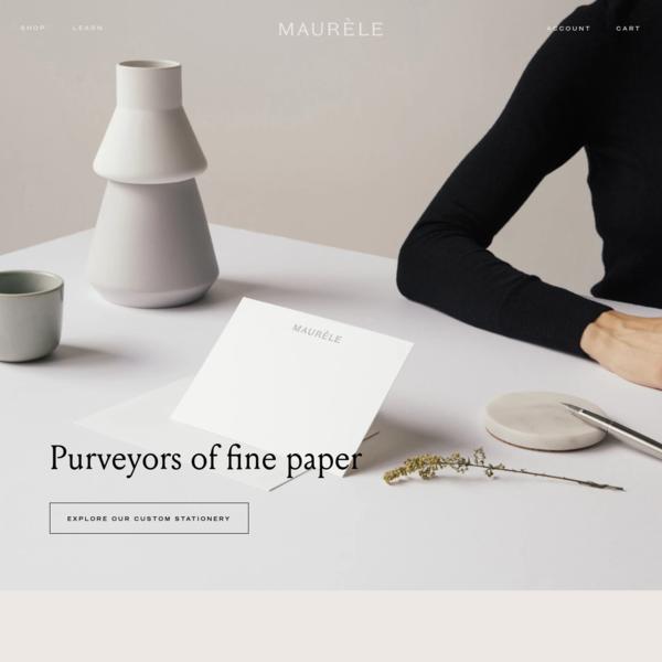 Maurele Paper Goods