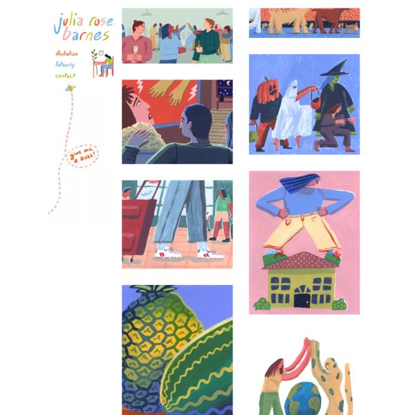 Freelance Illustrator | Julia Barnes Illustration