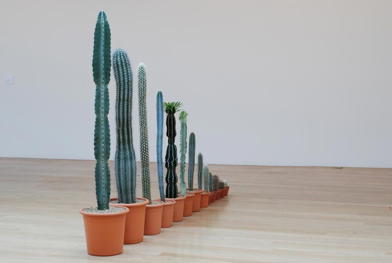 Martin Creed, Down Over Up (2010)