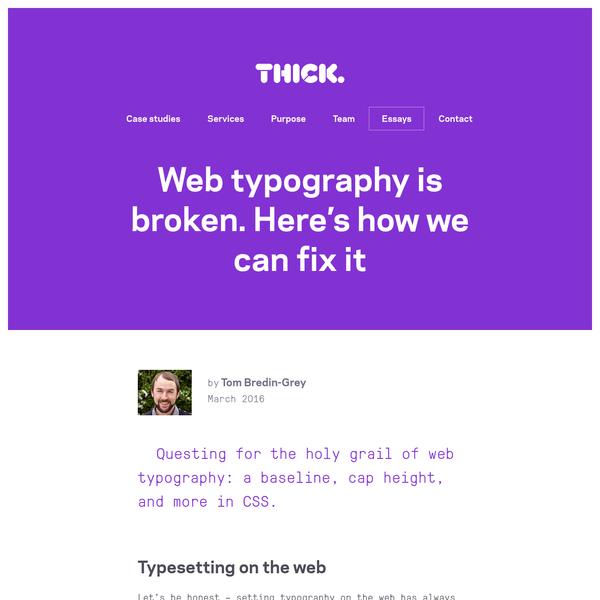 Web typography is broken. Here's how we can fix it