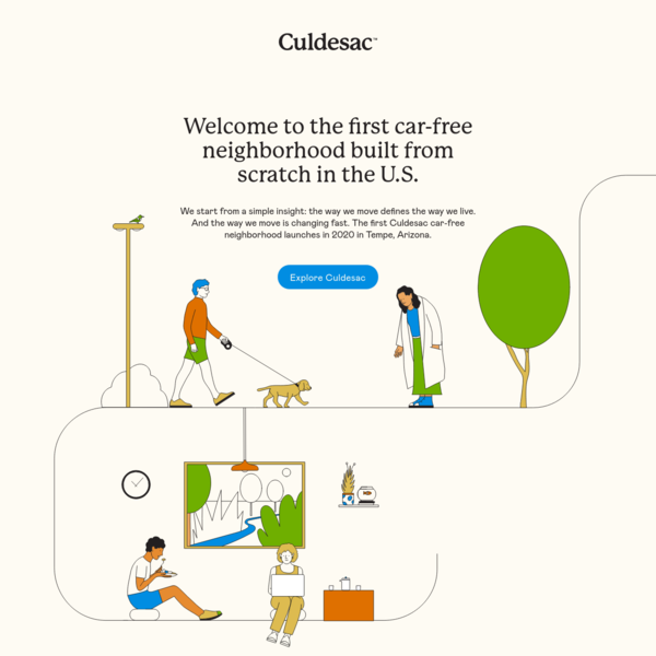 Culdesac | Experience Someplace Better