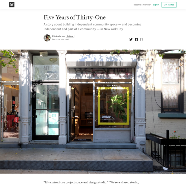 Five Years of Thirty-One - Elie Andersen - Medium