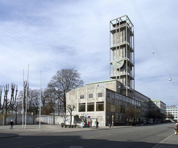 Aarhus City Hall. Arne Jacobsen and Erik Møller.