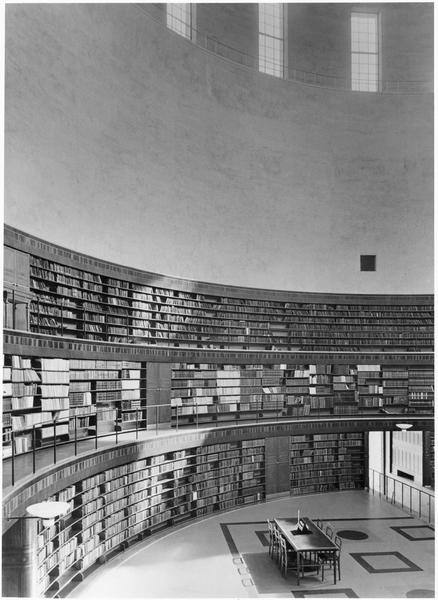 Erik Gunnar Asplund. Stadsbiblioteket