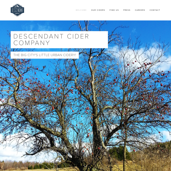 DescendantCider.com