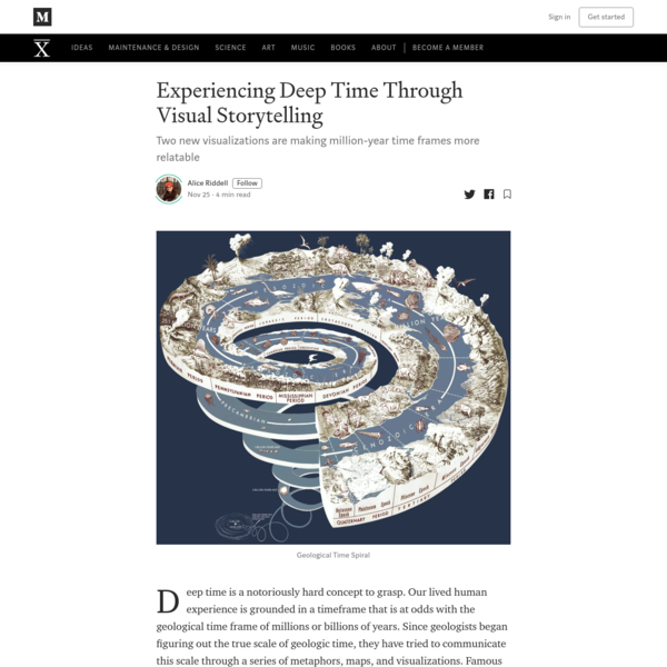 Experiencing Deep Time Through Visual Storytelling
