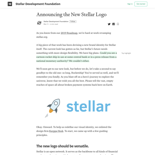 Announcing the New Stellar Logo