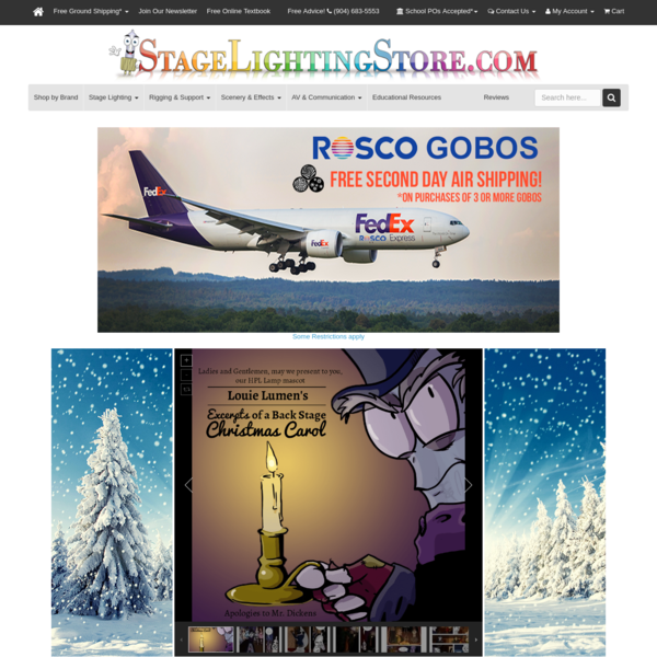 StageLightingStore.com - Largest Online Stage and Theatre Catalog - Stage Lighting Store