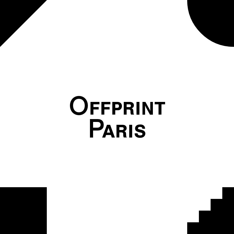 Offprint Paris is an Art Publishing Fair focused on emerging practices in Art.