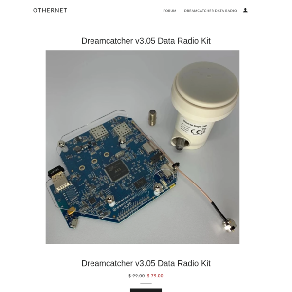 Dreamcatcher v3.05 Data Radio Kit