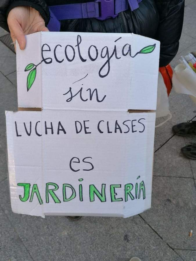 """""""Ecology without class struggle is gardening"""""""