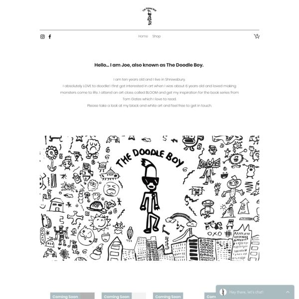 Illustration | The Doodle Boy