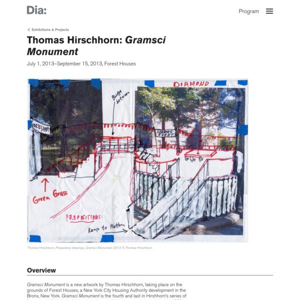 Thomas Hirschhorn: Gramsci Monument