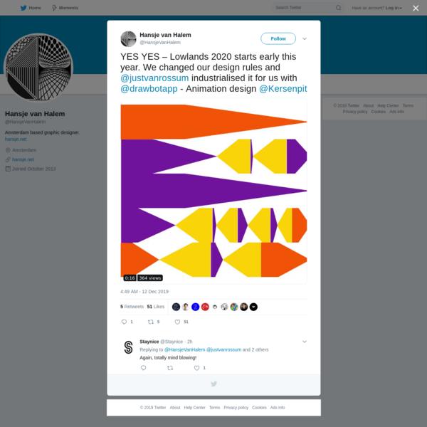 Hansje van Halem on Twitter