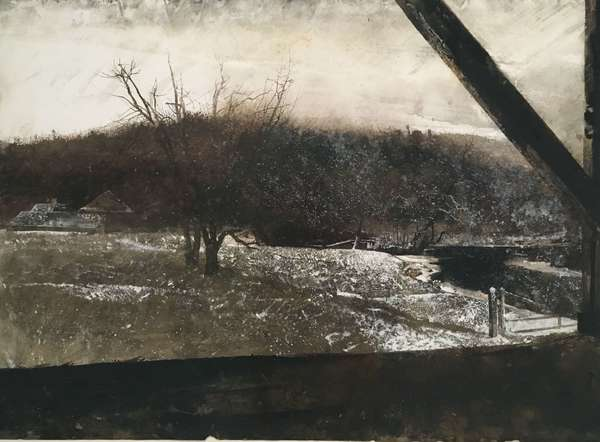 Andrew Wyeth, River Valley