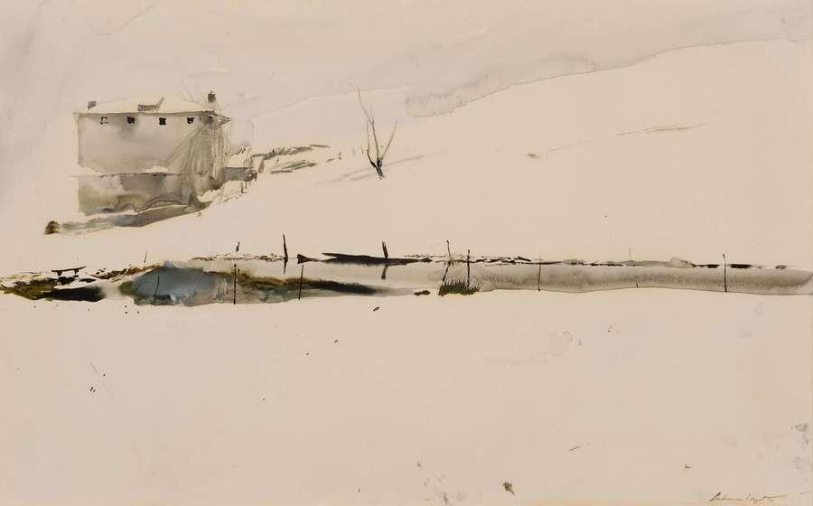 Andrew Wyeth, Farm Pond