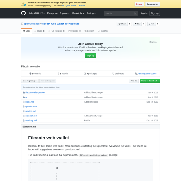 openworklabs/filecoin-web-wallet-architecture