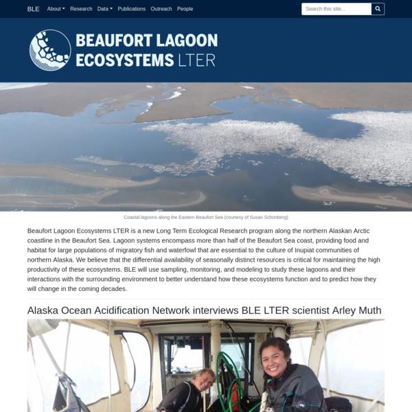 Beaufort Lagoon Ecosystems LTER