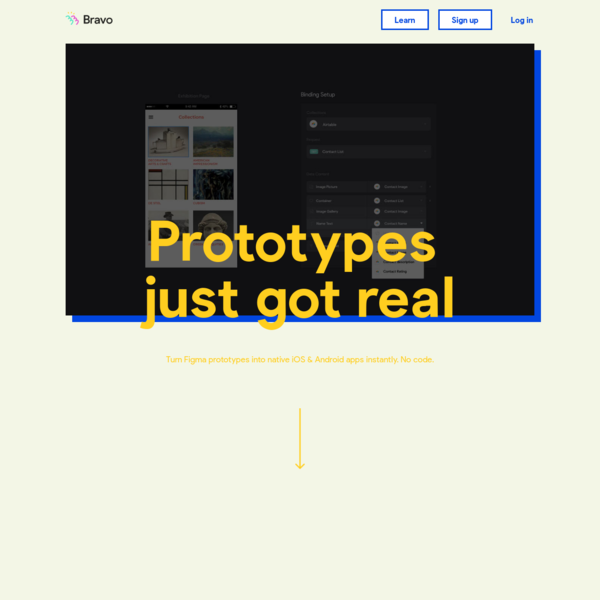 Bravo Studio App   Where your designs become real native apps.
