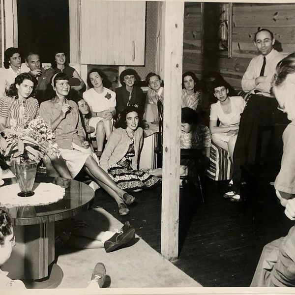 what Black Mountain College looked like in the early 1940s, when nearly all male students and many male professors had left the college for the war through the photos of Josef Breitenbach