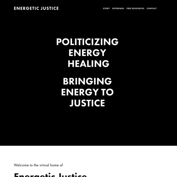Energetic Justice