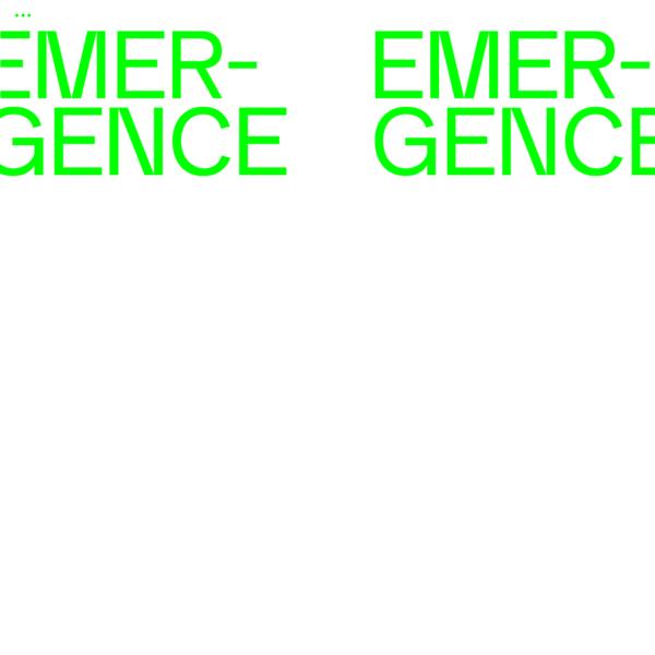 Emergence | Home