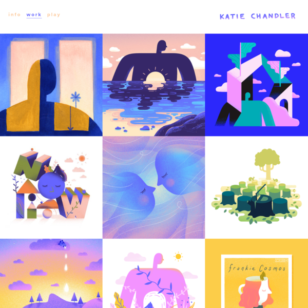 Katie Chandler : Illustrative Designer