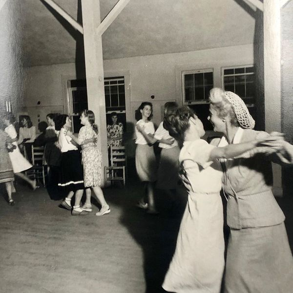 Saturday night dancing, Black Mountain College, summer 1944, Josef Breitenbach