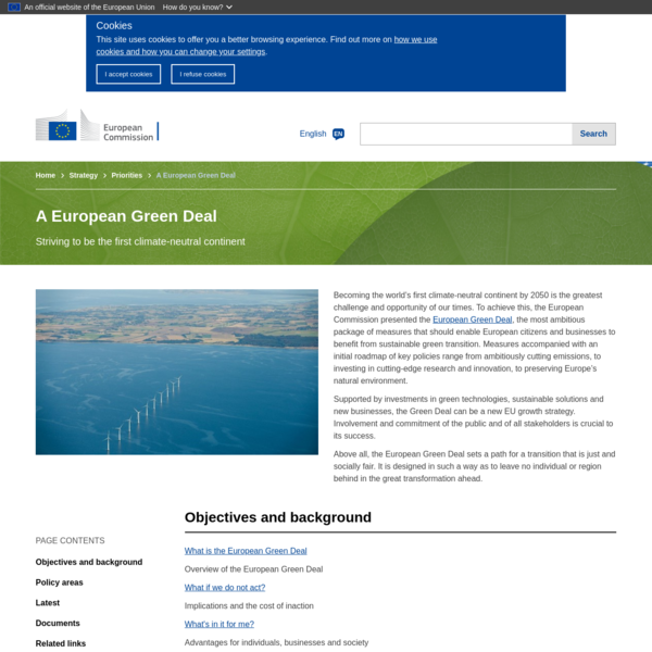 A European Green Deal   European Commission