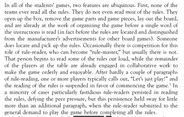 K. Liberman on board games
