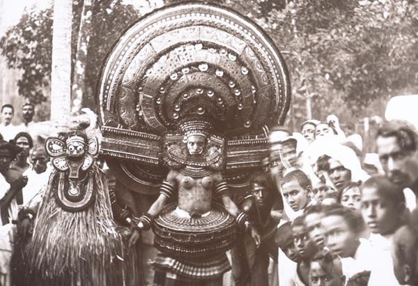 The ritual dance of Theyyam, Kerala, India (1901)