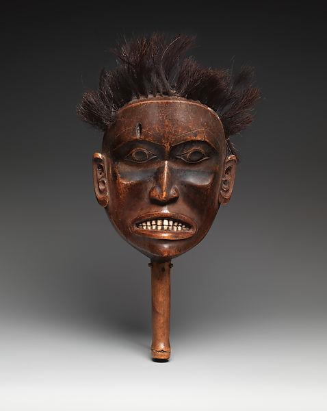 Shaman's rattle ca. 1750–80