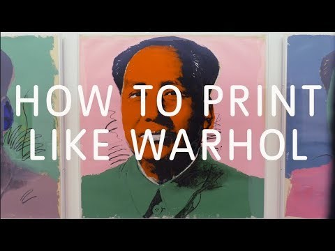 How to Print Like Warhol | Tate