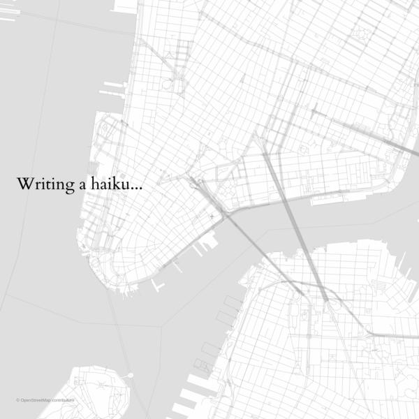 OpenStreetMap Haiku