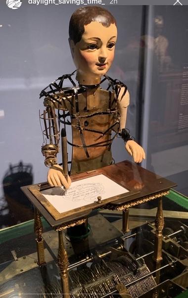 The Draughtsman-Writer ca 1800 Henry Maillardet