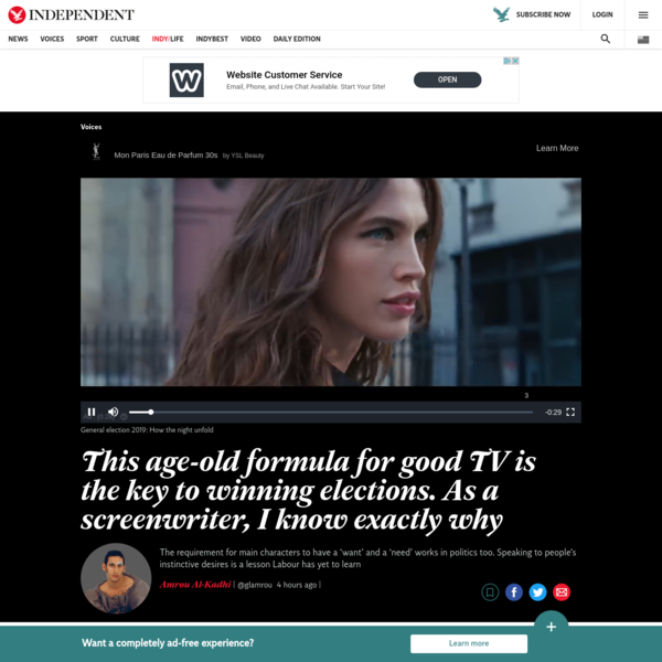 Amrou Al-Kadhi: This age-old formula for good TV is the key to winning elections