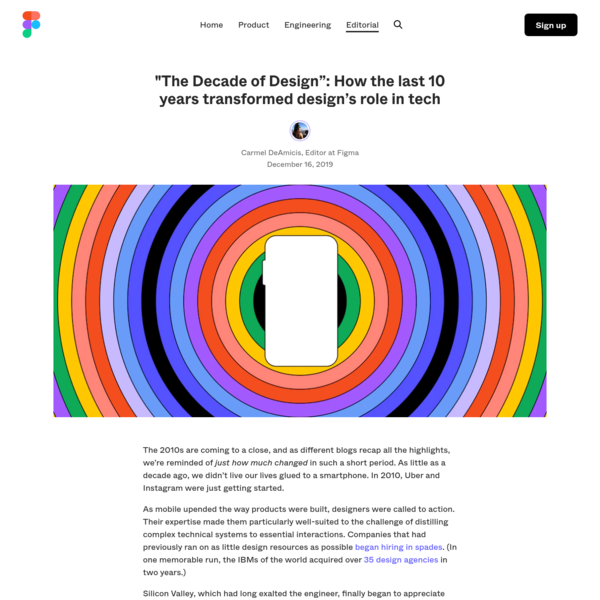 """""""The Decade of Design"""": How 10 years transformed design's role in tech"""
