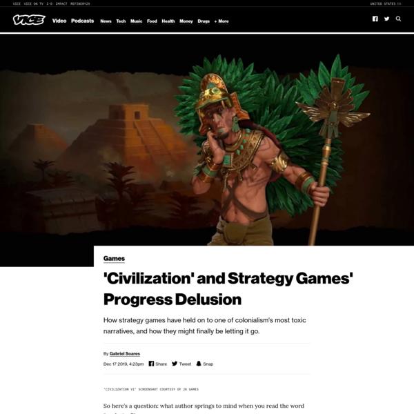 'Civilization' and Strategy Games' Progress Delusion