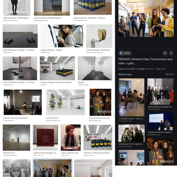 Lydia Ourahmane - Google Search